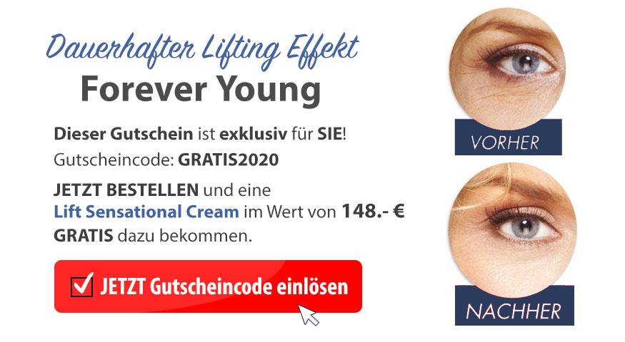Katja van Ayk Lift Sensational Cream Preis Gutschein