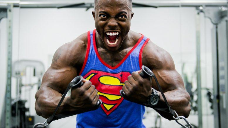 bin ich muskulös test